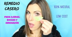 No os perdáis este fabuloso remedio de JESSICA MCBRULL para decir adiós a las ojeras y bolsas con ayuda del pepino. ¡Descubre el paso a paso! Tips Belleza, Agua Mineral, Health, Youtube, Natural, Periorbital Dark Circles, Beauty Hacks, Beauty Makeup, Home Remedies