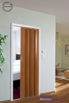 The Tango Folding Door - Cherry Internal Folding Doors, Door Gate Design, Home Alone, Bathroom Doors, My Room, Zentangle, Closets, Uni, Home Office