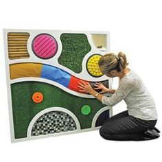 sensory tactile wall panel - Google Search