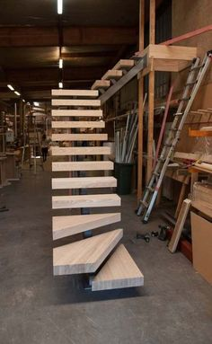Wooden floating stairs interiors 32+ ideas for 2019 #stairs