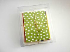 Your place to buy and sell all things handmade Craft Kits, Note Cards, Mother Day Gifts, My Etsy Shop, Polka Dots, Notes, Green, Handmade, Crafts