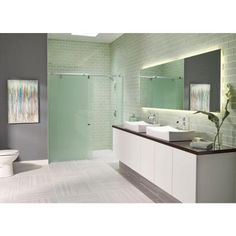 Ms International Ice 4 In X 12 Gl Wall Tile 2 Sq Ft Case
