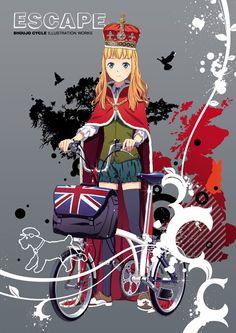 shoujo cycle #Brompton