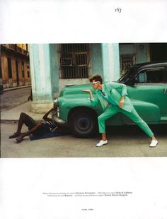 """""""Cuba Libre"""". Lyle Lodwick photographed in Cuba by Glen Luchford and outfitted by Anastasia Barbieri for the latest issue of Vogue Hommes International."""