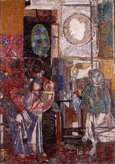 """Bruno Saetti / Renato Signorini, """"Senza titolo"""", 1956-59"""