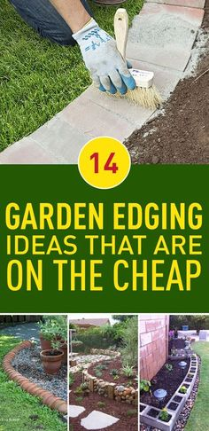 A clean and tidy garden edge will define your garden and give it its unique look and feel, it will also save you unnecessary efforts in the future as it will keep your garden tidy. Everyone would love to have a professionally designed garden edges, but that would cost a fortune. However, you can make great edges that look really good yourself, without even needing those super expensive materials. Here are ideas to inspire you, they're functional and beautiful and the best of all, you can…