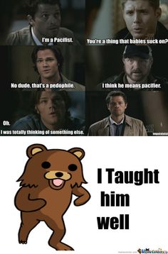 supernatural funny meme | Supernatural... - Meme Center