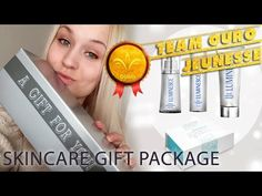 Abrindo o SKINCARE HOLIDAY GIFT PACKAGE - Team Ouro