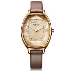 e82f46a60ee ... leather watch bands for women Suppliers  2017 Julius Brand Rose Gold  Creative Women Dress Watch Thin Leather Quartz Watch Fashion Woman Wrist  Watches ...