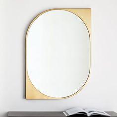 8 Authentic Hacks: Large Wall Mirror Kitchen wall mirror with storage bath. Wall Mirrors Entryway, Small Wall Mirrors, Rustic Wall Mirrors, Contemporary Wall Mirrors, Round Wall Mirror, Mirror Art, Metal Mirror, Mirror Ideas, Modern Mirror Design