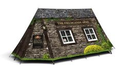 Worlds Smallest Pub Tent - Camp in your own Pub! High Specification, Waterproof A-Frame Tent for 4 Season Use. Camping World, Family Camping, Tent Camping, Outdoor Camping, Glamping, Camping Packing, Packing Lists, Campsite, Couples Camping