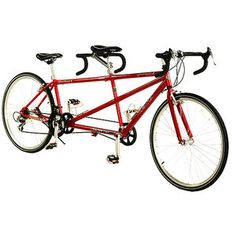 Tandem bike...probably just to try.
