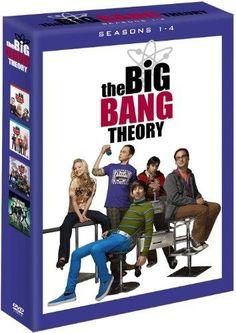 Big Bang Theory seasons 1-4