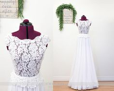 Lace Wedding Dresses Chiffon Wedding Dresses Peplum Lace