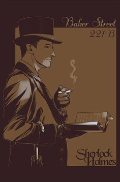 sherlock holmes quotes | sherlock holmes fan art | Sherlock Holmes by ~JamesTheShark on ...