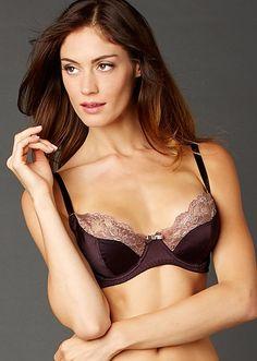 9e477908a72 Indulgence Silk Bra - Soft Full Bra with Lace