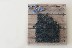 Follow This Step-By-Step Tutorial to Make Your Own String Art Project