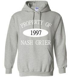 Property of Nash Grier 1997 Hoodie