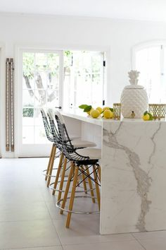 Beautiful marble kitchen | Rue Mag. #laylagrayce #kitchen