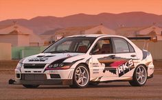 HKS Mitsubishi Evolution VIII and Lancer EVO