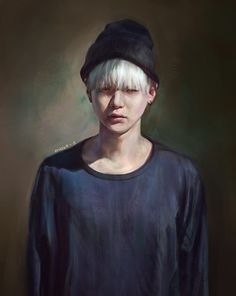 Kpop fanart BTS Suga