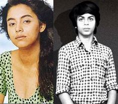 Childhood Photos of Bollywood Couples - Shah Rukh and Gauri