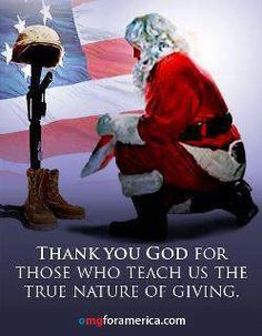 Thank you to all of our military members and their families who will be separated this Christmas season.