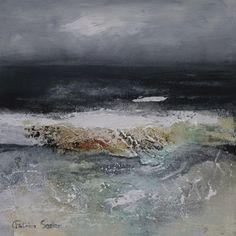 Breaking Wave Patricia Sadler abstract artist | beach | contemporary