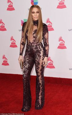 Jump to it in an all-in-one like Jennifer Lopez in Zuhair Murad #DailyMail  Click 'Visit' to buy now