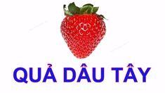 Bé tập nói Tiếng Việt | Dạy em học về các loại hoa quả | Em đọc trái cây...