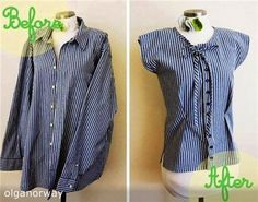 Remodel men's shirt in ideas from the Internet1635