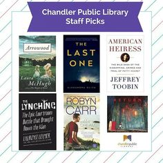We've read and loved some fab books lately! #cplreads #staffpicks…
