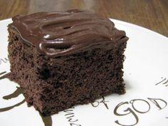 Basic Chocolate cake (sourdough)