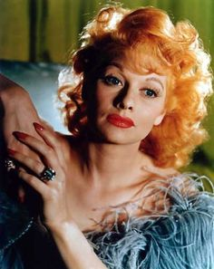 Lucille Ball Sexy | Lucille Ball so use to her in black and white very beautiful