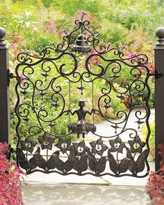 "MacKenzie-Childs ""Mrs. Powers"" Garden Gate thestylecure.com"
