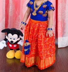 Kids Frocks, Frocks For Girls, Dresses Kids Girl, Kids Outfits, Baby Dresses, Kids Indian Wear, Kids Ethnic Wear, Kids Dress Wear, Kids Gown