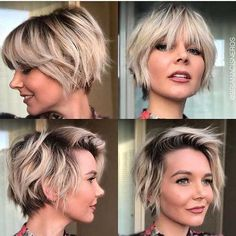 21 Cute Short Haircuts For 2019 ,  Here are some pixie cuts that are perfect and great. These hairstyles do not bring about that awkward hair day when you get a great hairstylist to giv... , Short Hairstyles