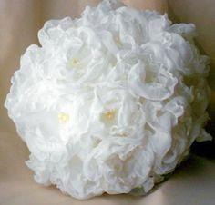 Wedding Floral Ball Centerpiece, $35.0