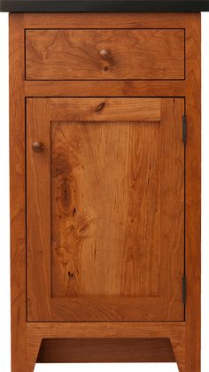 I like this style of cabinet with simple frame and inset door. Might want a different toe-kick style.