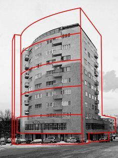 L& russe / Alexey Bogolepov - . - L& russe / Alexey Bogolepov – - Architecture Russe, Architecture Design, Architecture Graphics, Russian Architecture, Architecture Board, Concours Photo, Design Graphique, Brutalist, Grafik Design