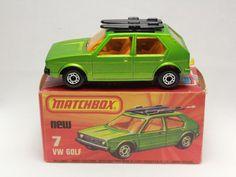 MATCHBOX SUPERFAST No.7 VW VOLKSWAGEN GOLF LESNEY -a- #Matchbox #Volkswagen