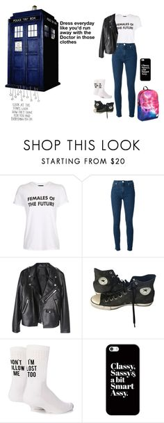 """""""Untitled #301"""" by randomfashionsxoxo ❤ liked on Polyvore featuring Topshop, Love Moschino, Converse, Yeah Bunny and Casetify"""