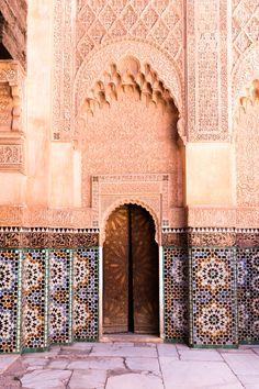 Trip Marrakech Medersa ben Youssef - Carnets Parisiens   Morocco