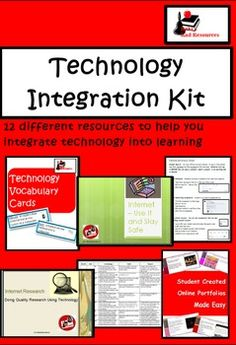 Newly released technology integration kit for computer lab teachers or teachers who are looking to integrate technology into their classrooms. 12 different resources for $22.