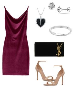 """date look #2"" by kiwiid on Polyvore featuring Jools by Jenny Brown, Dana Buchman and Yves Saint Laurent"