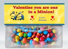 Valentine's day, Bag toppers, Minions