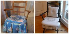 Diy Early American to French Country Rocking Chair Makeover. This chair was so ugly and the full picture of it is stunning