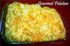 Gourmet Potato recipe. Comfort food!