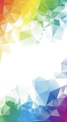 Colorful rainbow polygon background or vector frame — Stock Illustration Powerpoint Background Design, Background Design Vector, Geometric Background, Background Templates, Graphic Wallpaper, Images Wallpaper, Wallpaper Backgrounds, Wallpapers, Creative Poster Design