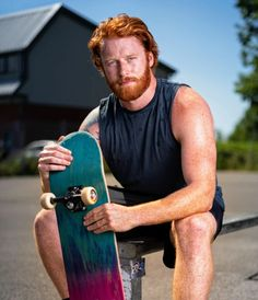 Board Ginger Men, Ginger Hair, Men In Tight Pants, Redheads Freckles, Wolf Pup, Hottest Redheads, Toys For Boys, Boy Toys, Male Models